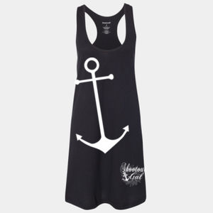 Large Anchor - Shootout Gals Women's Sleepy Racerback Cover Up Thumbnail