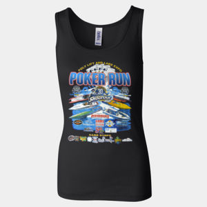 Poly Life and Lake Expo Poker Run 2018 Women's Tank Thumbnail